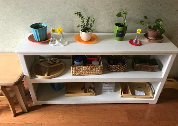The Post Oak School Montessori Toddler Shelves