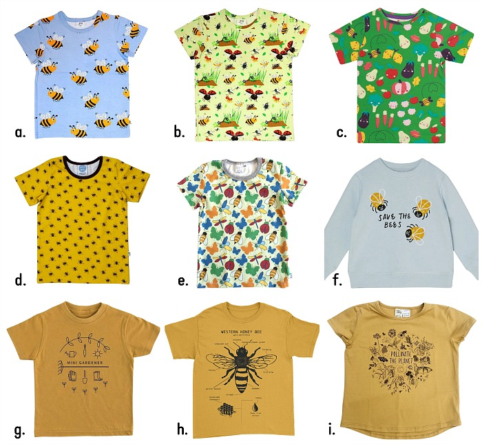 Bee Tees Tops for Kids at How we Montessori