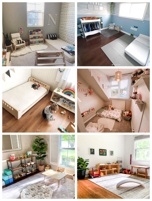 Montessori Bedroom at How we Montessori