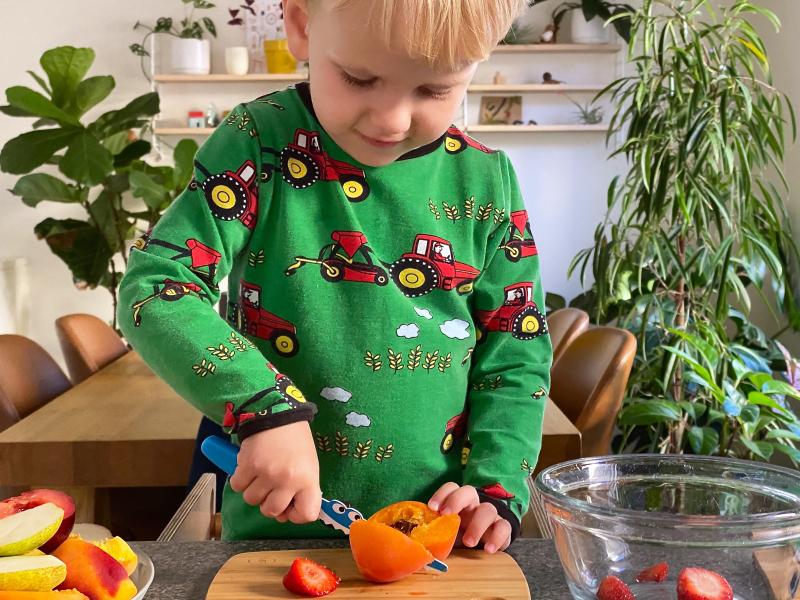Montessori mini chef soffritto knife Australia robins kitchen at How we Montessori