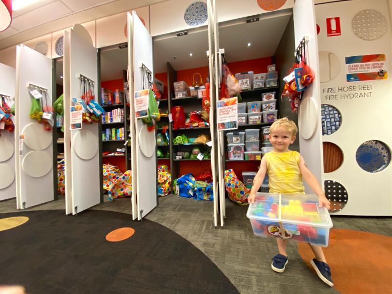 Randwick toy library at How we Montessori Otto three years