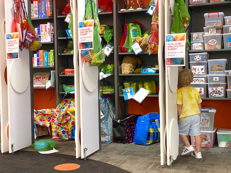 Toy library at How we Montessori Sydney
