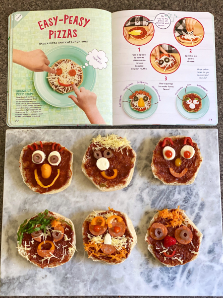 Food Play by Amy Palanjian Busy Little Hands at How we Montessori easy peasy pizzas