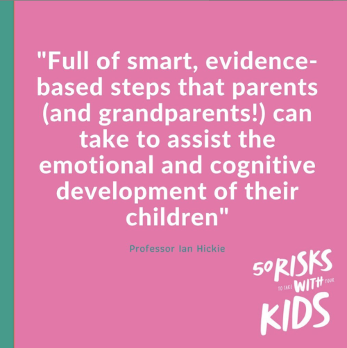 50 Risks to take with Kids Daisy Turnbull