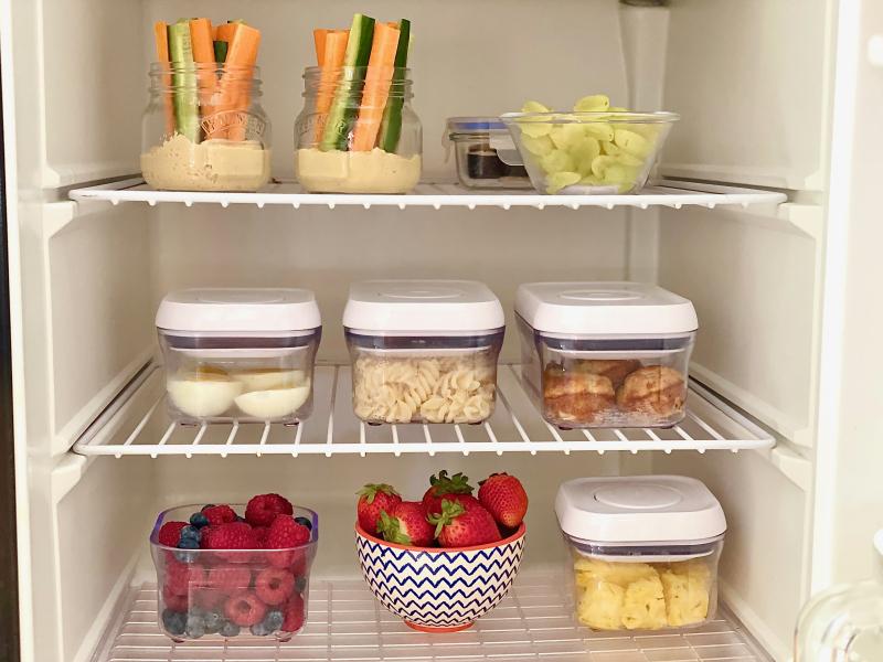 Montessori Child's fridge at Home How we Montessori