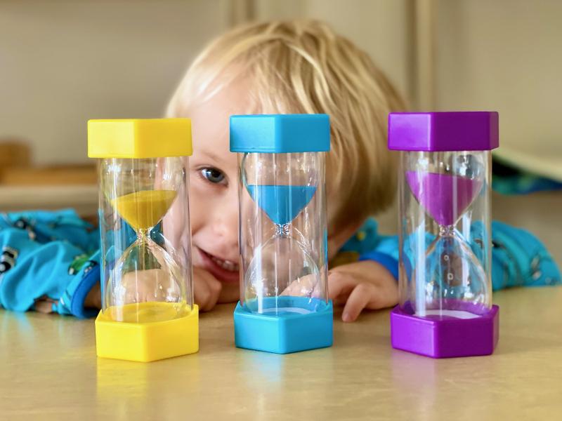 Visual timers How we Montessori