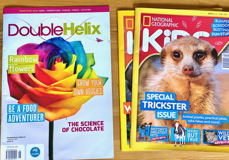 Kids magazine we love at How we Montessori