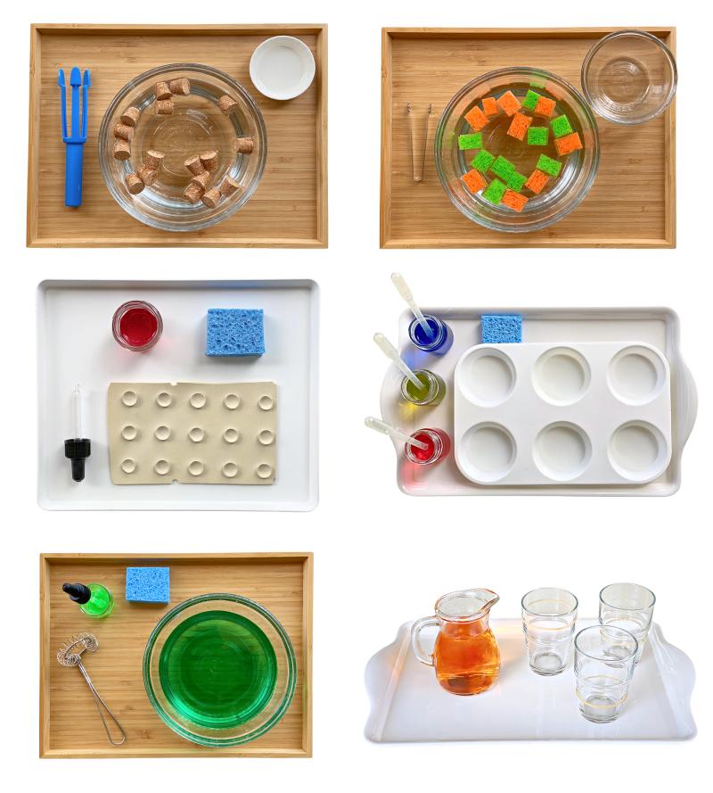 Water fine motor activities at How we Montessori (1)