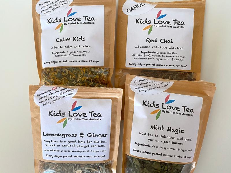 Kids love tea at How we Montessori kids loose leaf tea