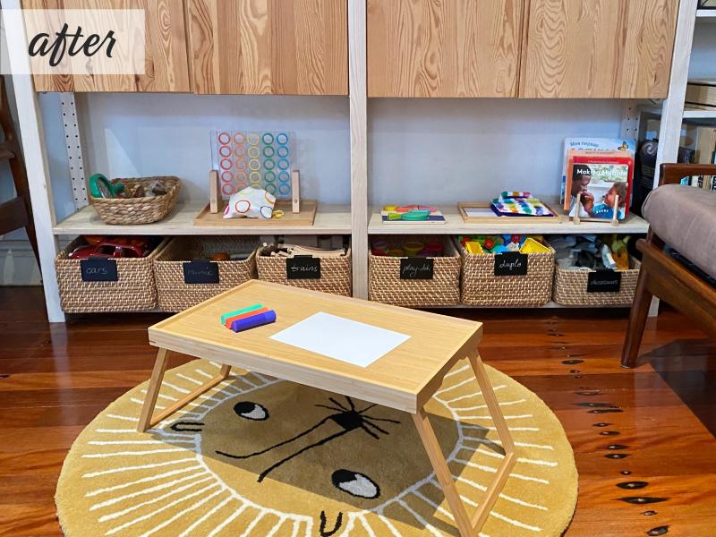 Montessori make over Before (1)