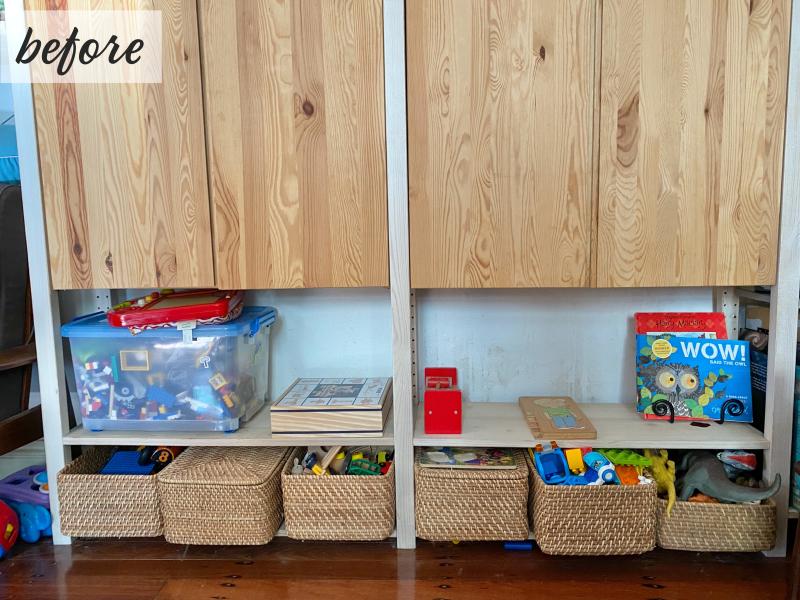 Montessori make over Before (2)