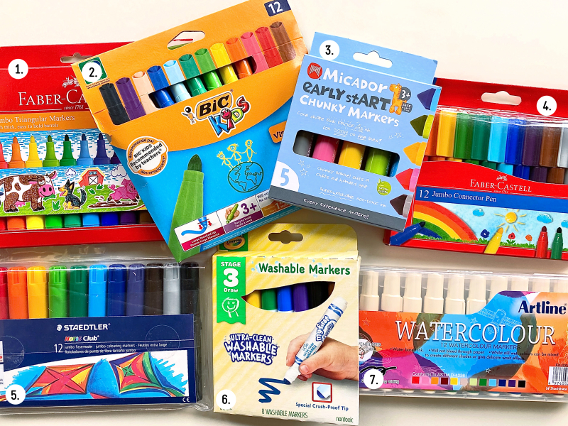 Best markers for three year olds at How we Montessori  (1)