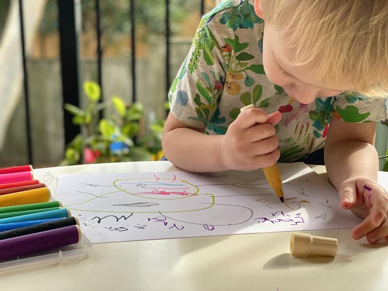 Artline 300 watercolour markers at How we Montessori
