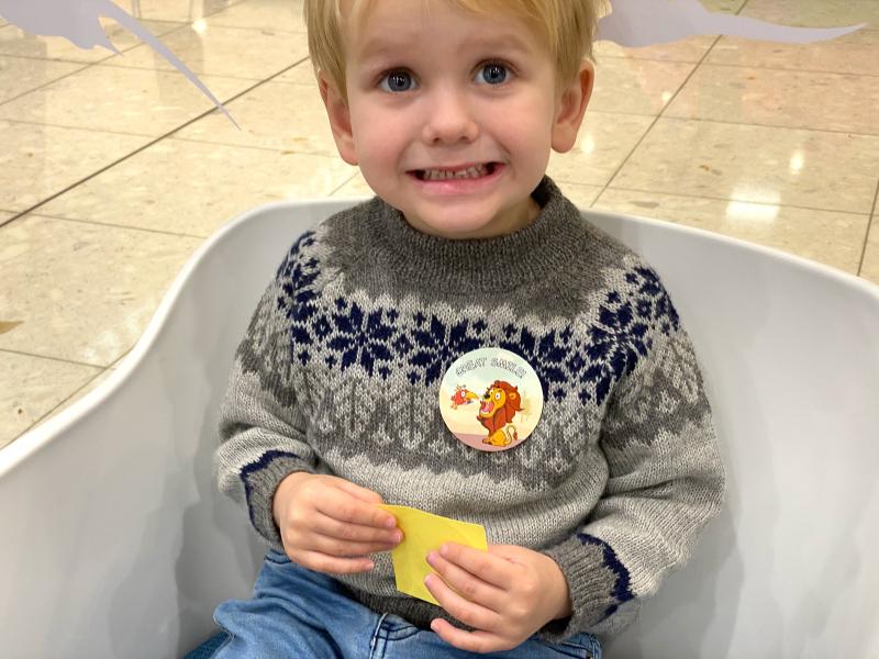 Teaching dental hygiene at How we Montessori
