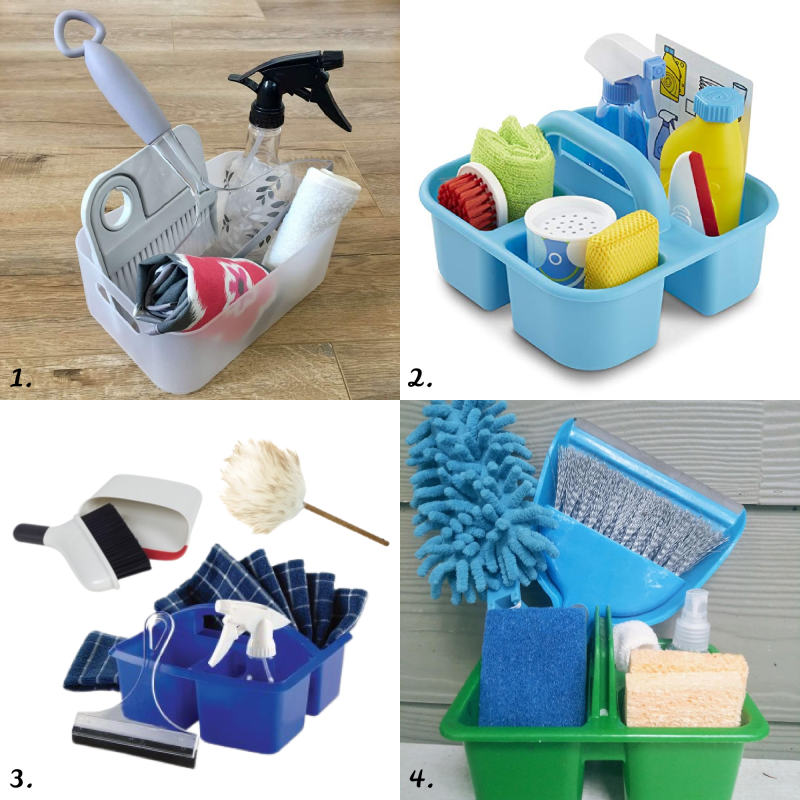 Montessori Cleaning Caddy