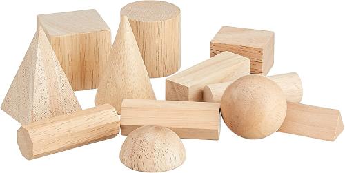 Geometric solids at How we Montessori