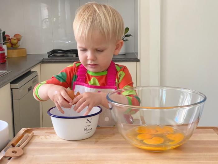 Toddler cook book at How we Montessori