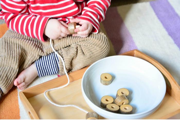 Music basket at how we Montessori 18 months