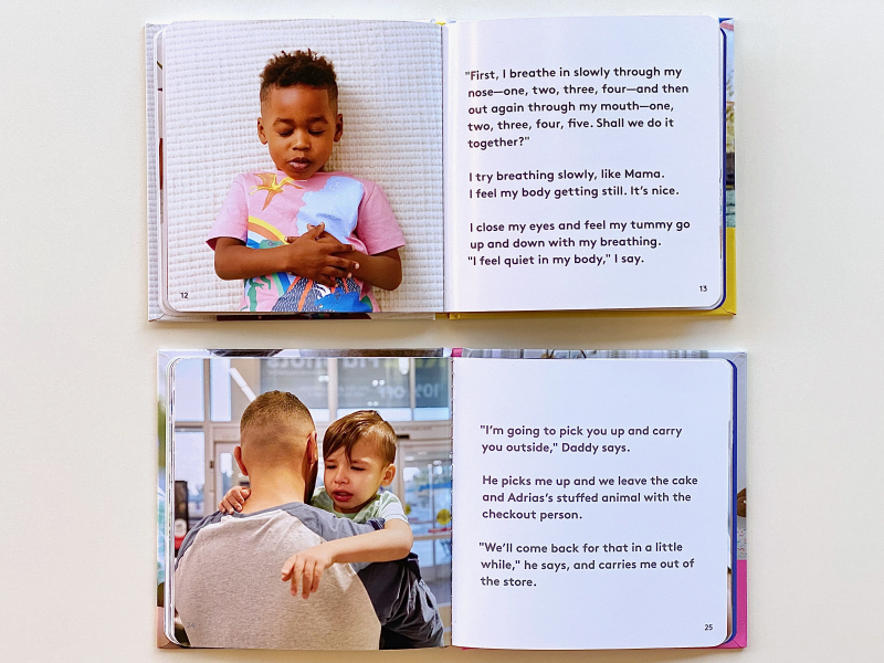 Books about feeling emotions at how we Montessori