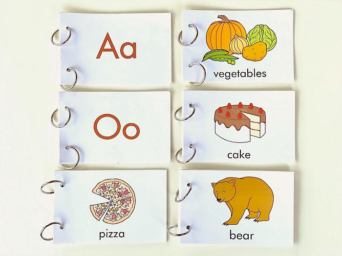 How we Montessori Mini Alphabet Books