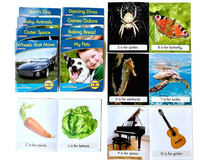 Prereader readers for 2-3 years at How we Montessori