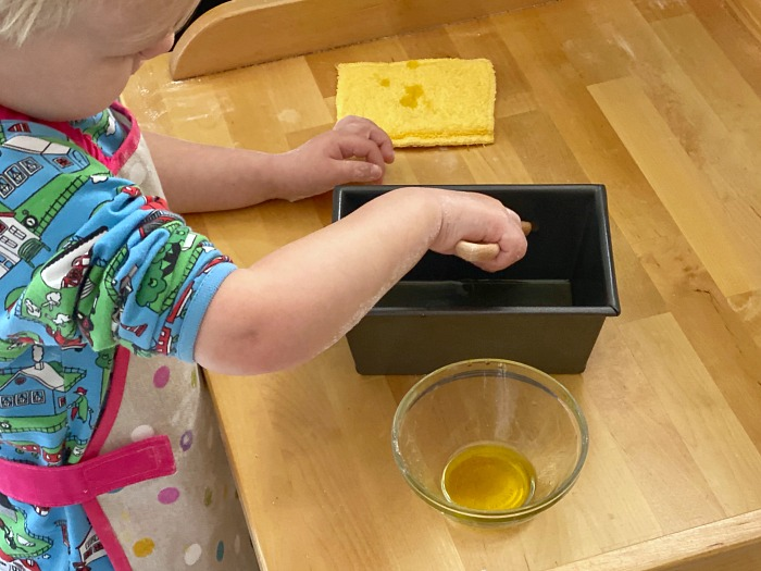 Toddler Bread Making at How we Montessori Otto Sydney
