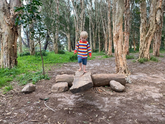 Otto three years at Sydney Forest school centennial park at How we Montessori