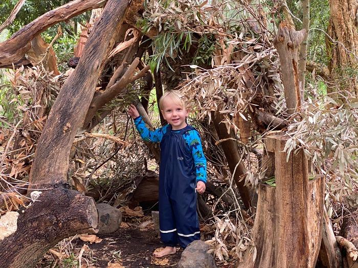 Otto Forest School Bush Kinder Centenially Park Sydney