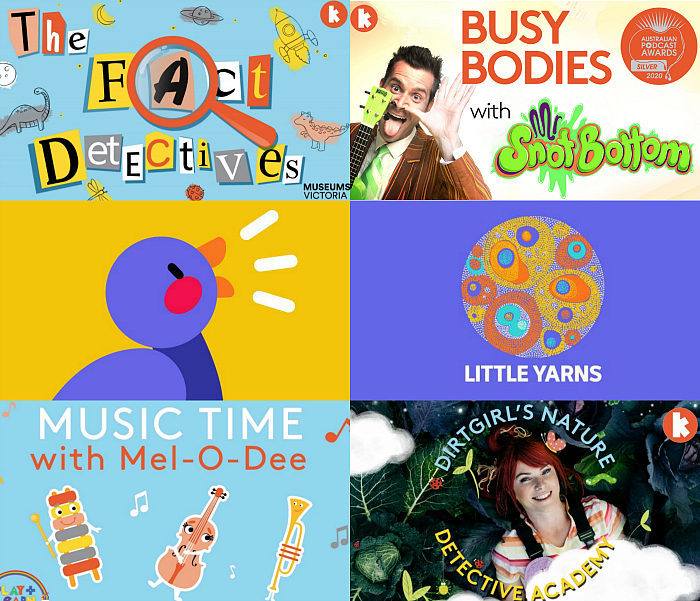 Best Australian Podcasts for three year olds at How we Montessori