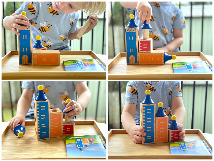 Smart Games  Castle Logix three years at How We Montessori