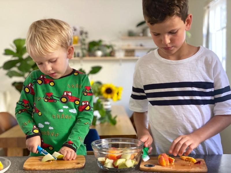 Kids kitchen and chef knives Australia at How we Montessori