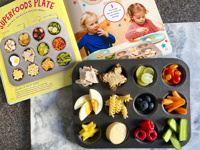 Superfoods Plate at Food Play review How we Montessori