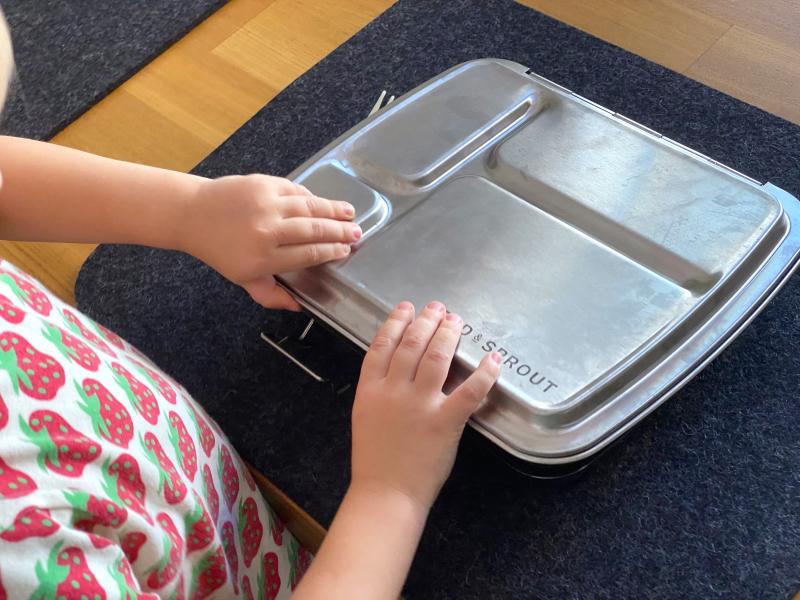 Montessori lunches food prep How we Montessori