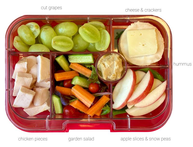 Best Montessori lunch box Yumbox for a three year olld (1)