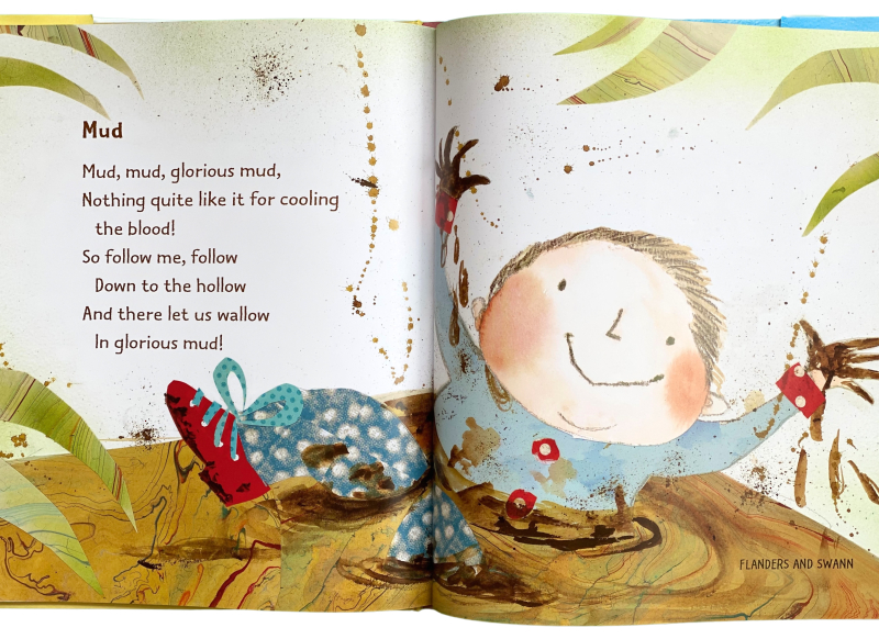 Here's a Little Poem  Mud at How we Montessori