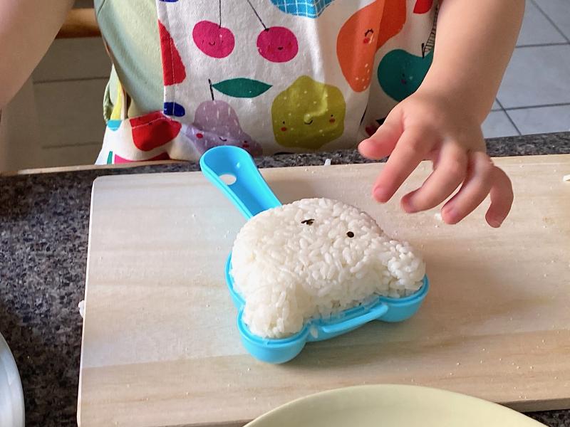 Kids Onigiri at How we Montessori