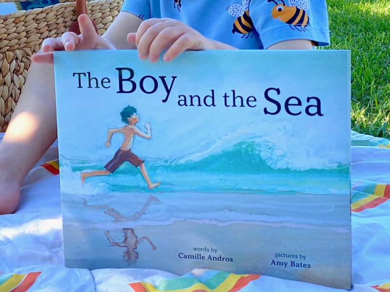 The boy and the Sea by Andros and Bates at How we Montessori