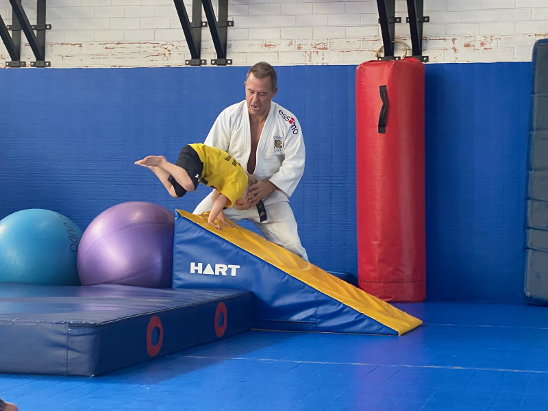NSW kids Judo  Otto three years. May 2021