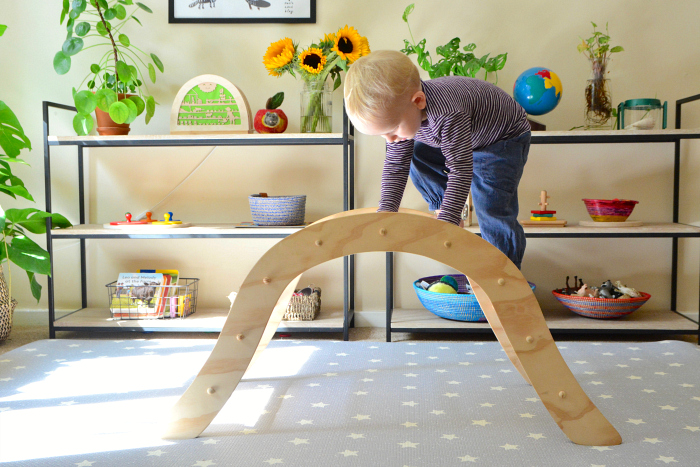Pikler arch at 2yrs