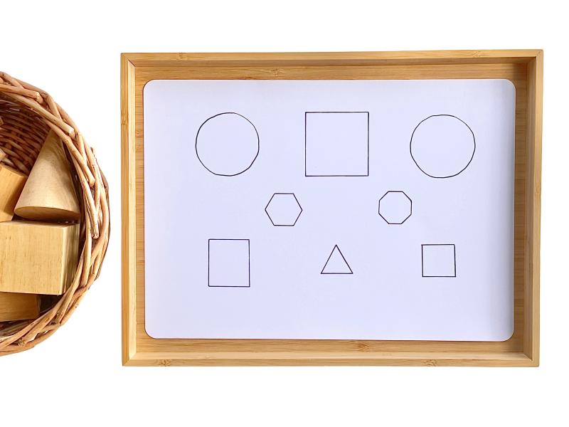 Matching geometric shapes to base shapes at HWM