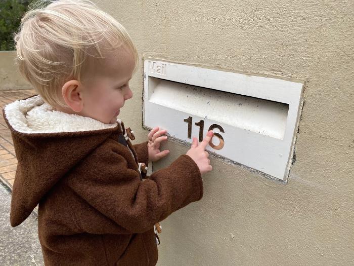 Number hunt at How we Montessori