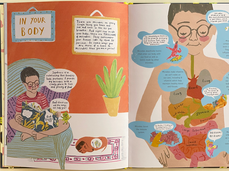 Gut Garden Science books at How we Montessori