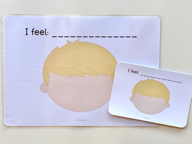 Emotion cards at How we Montessori (2)