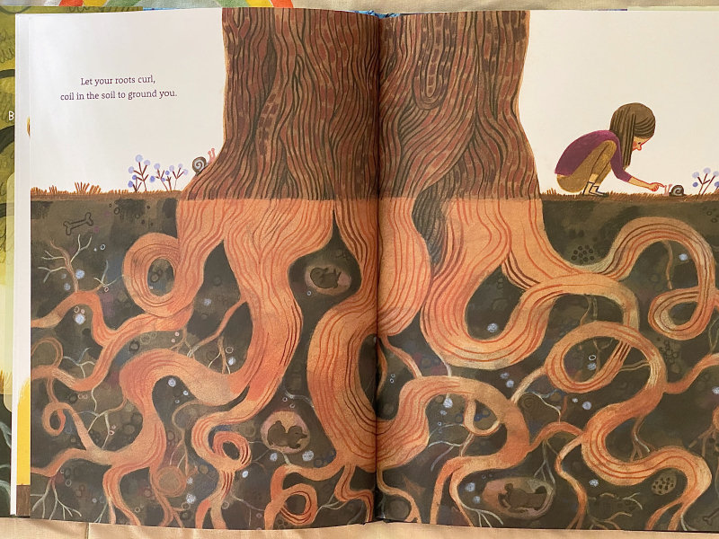 Be at Tree at How we Montessori children's picture book