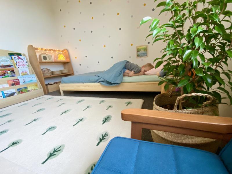How we Montessori floor bed