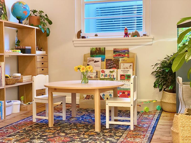 Montessori play room makeover Sydney Bondi