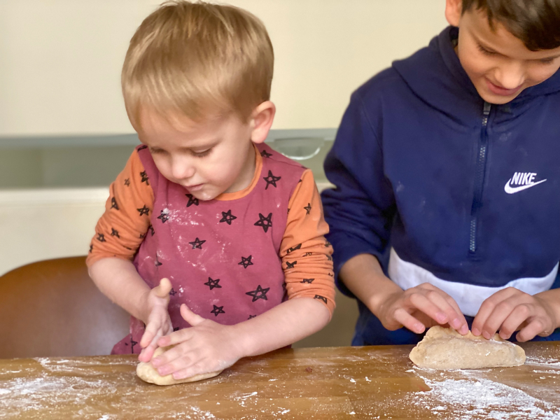 Thursday bread making at How we Montessori (1)