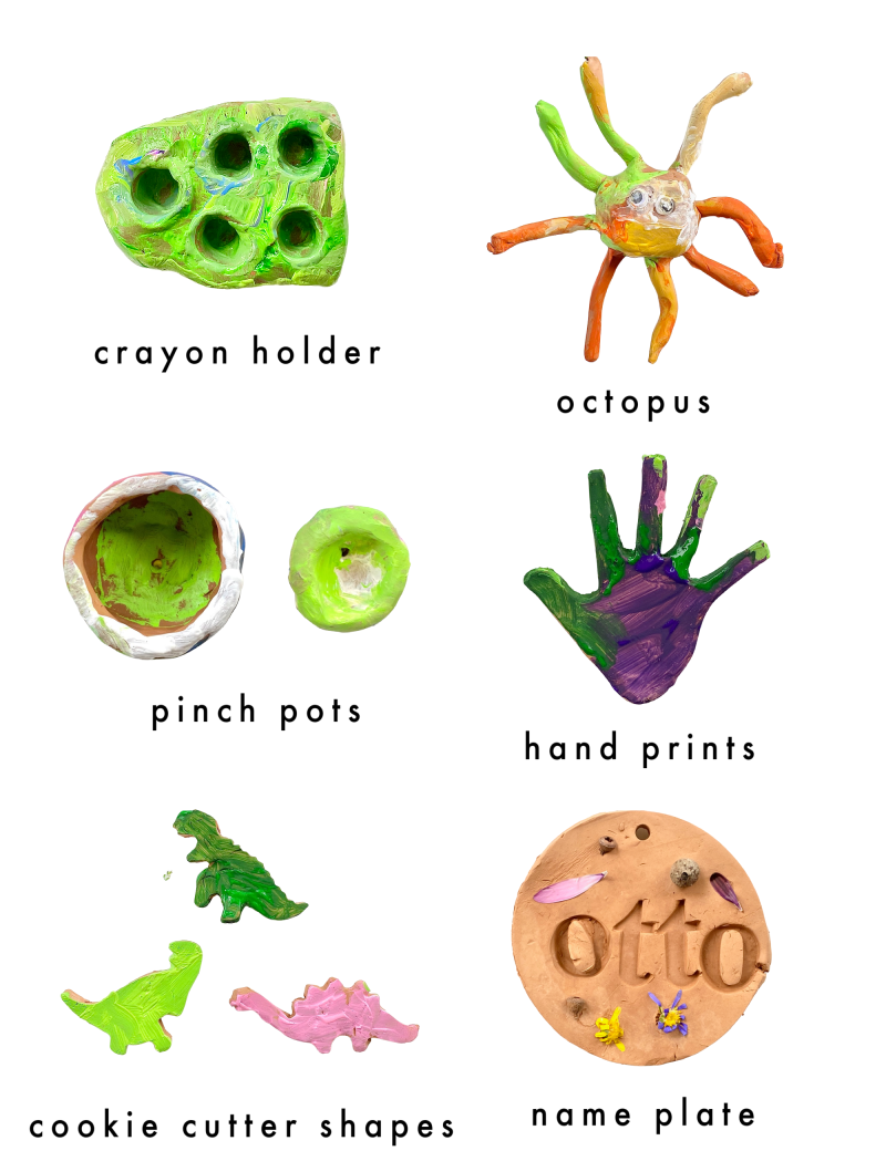 Clay projects for three four year olds preschool  at How we Montessori with kids (2)