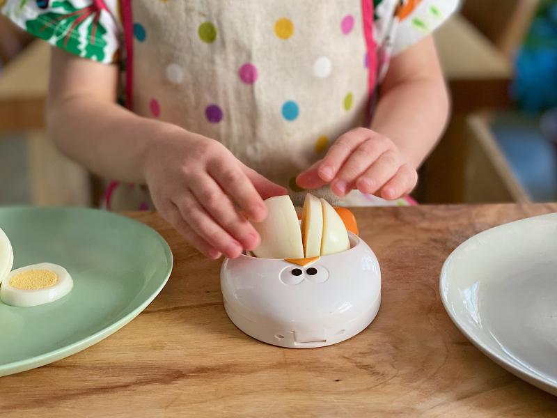 Egg slicer at How we Montessori