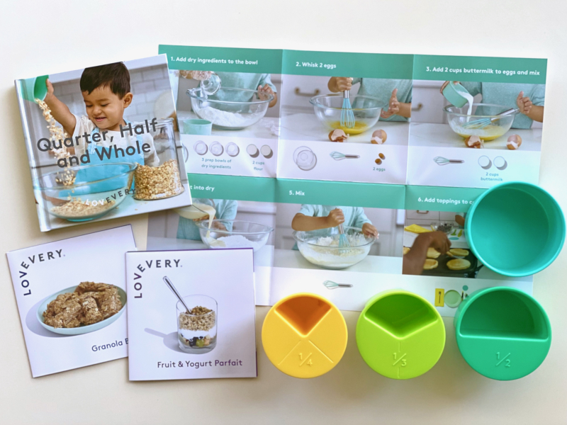 Lovevery pictorial recipe at how we Montessori